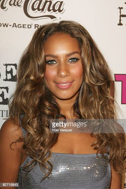 Leona Lewis attends InTouch Weekly's ICONSIDOLS PostVMA Celebration at Chateau Marmont on September 7 2008 in Los Angeles California