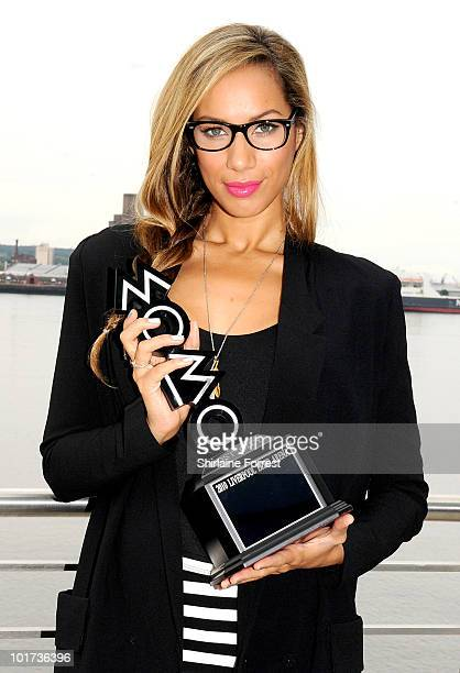 Leona Lewis attends press call to announce Liverpool as host city for 2010 MOBO Awards on June 7 2010 in Liverpool England