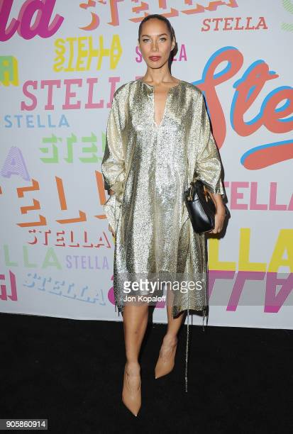 Leona Lewis attends Stella McCartney's Autumn 2018 Collection Launch on January 16 2018 in Los Angeles California