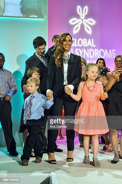 Leona Lewis attends the 2014 Global Down Syndrome Foundations Be Beautiful Be Yourself DC Gala at Renaissance Mayflower Hotel on May 7 2014 in...