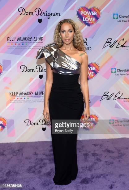 Leona Lewis attends the 23rd annual Keep Memory Alive 'Power of Love Gala' benefit for the Cleveland Clinic Lou Ruvo Center for Brain Health at MGM...
