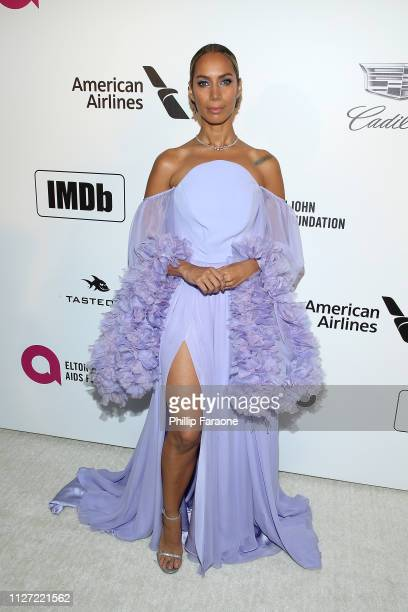 Leona Lewis attends the 27th Annual Elton John AIDS Foundation Academy Awards Viewing Party Celebrating EJAF and The 91st Academy Awards on February...