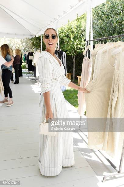 Leona Lewis attends the annual HEART Brunch featuring Stella McCartney on April 18 2017 in Los Angeles California