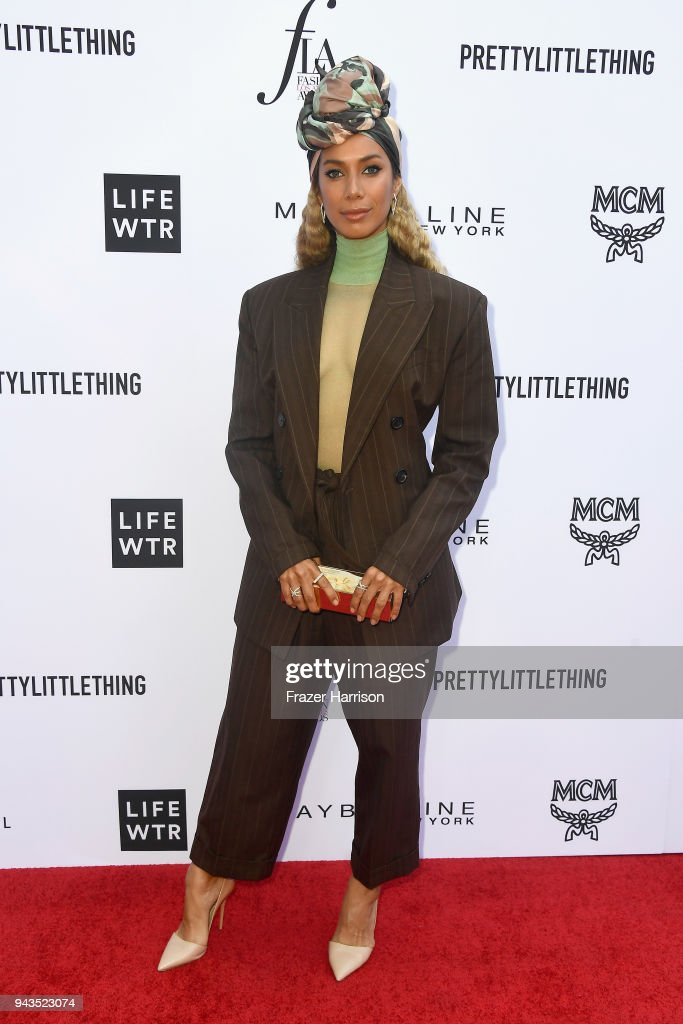 Leona Lewis attends The Daily Front Row's 4th Annual Fashion Los Angeles Awards at Beverly Hills Hotel on April 8, 2018 in Beverly Hills, California.