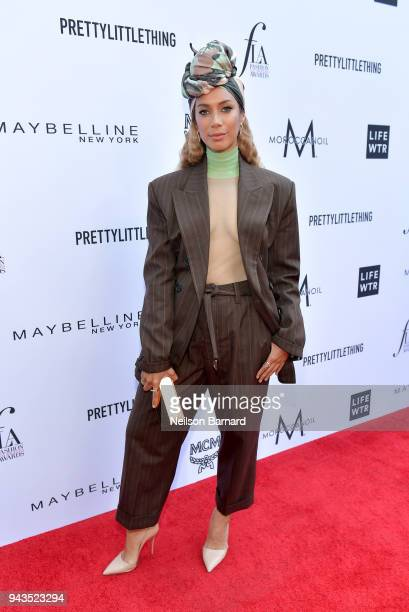 Leona Lewis attends The Daily Front Row's 4th Annual Fashion Los Angeles Awards at Beverly Hills Hotel on April 8 2018 in Beverly Hills California