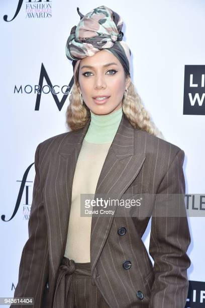 Leona Lewis attends The Daily Front Row's 4th Annual Fashion Los Angeles Awards - Arrivals at The Beverly Hills Hotel on April 8, 2018 in Beverly...
