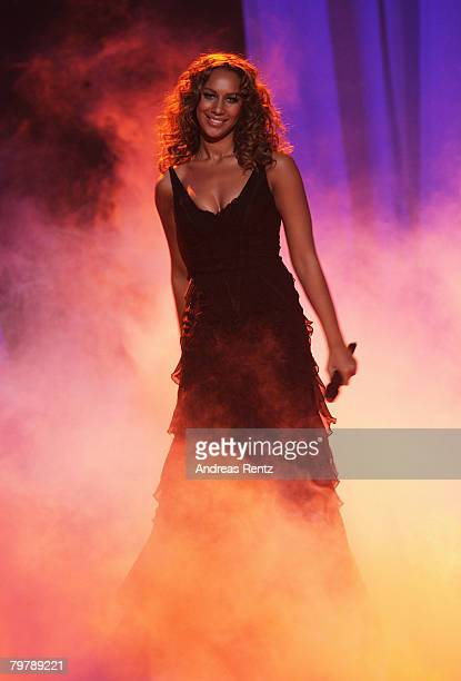 Leona Lewis attends the Echo Awards 2008 at the ICC Centre on February 15 2008 in Berlin Germany