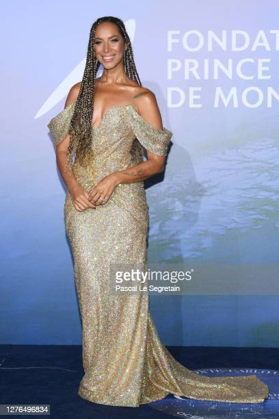 Leona Lewis attends the Monte-Carlo Gala For Planetary Health on September 24, 2020 in Monte-Carlo, Monaco.
