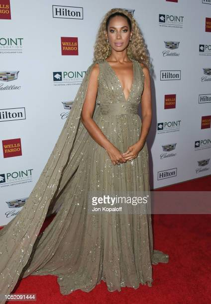 Leona Lewis attends the Point Foundation Honors Los Angeles 2018 Gala at The Beverly Hilton Hotel on October 13 2018 in Beverly Hills California