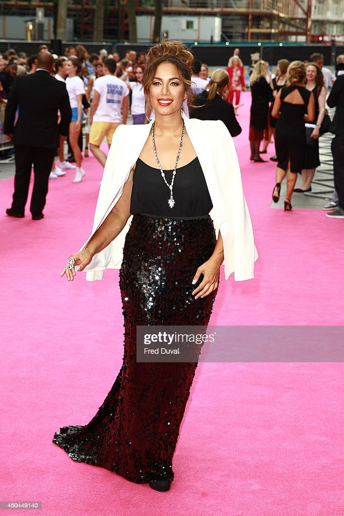 Leona Lewis attends the UK Premiere of 'Walking On Sunshine' at Vue West End on June 11, 2014 in London, England.