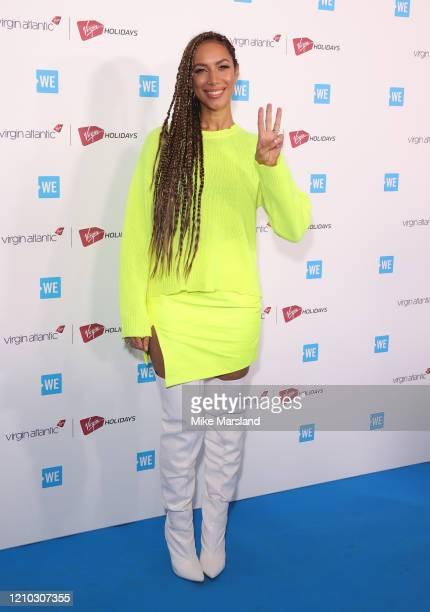 Leona Lewis attends WE Day UK 2020 at The SSE Arena, Wembley on March 04, 2020 in London, England.