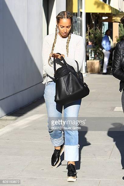Leona Lewis is seen on November 22 2016 in Los Angeles California