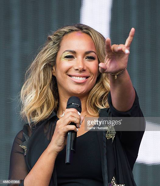 Leona Lewis performs at BBC Radio 2 Live In Hyde Park at Hyde Park on September 13 2015 in London England