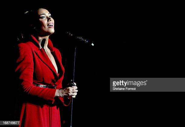 Leona Lewis performs at Manchester Apollo on May 14 2013 in Manchester England