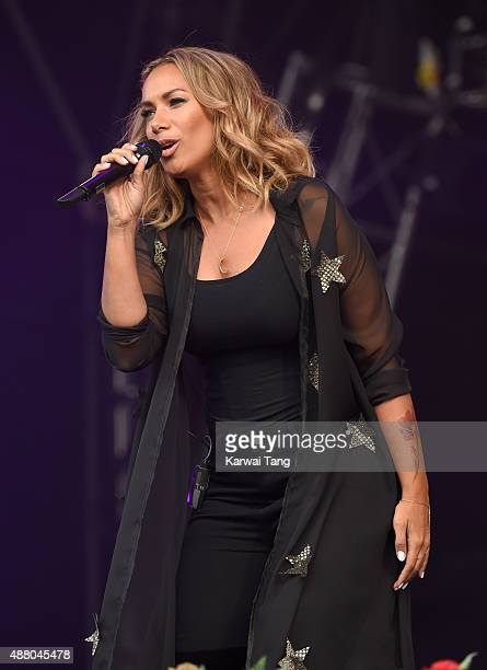 Leona Lewis performs at the BBC Radio 2 Live In Hyde Park Concert at Hyde Park on September 13 2015 in London England