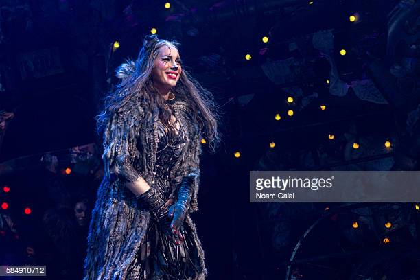 Leona Lewis performs at the firstever revival of Andrew Lloyd Webber's iconic CATS on Broadway on July 31 2016 in New York City