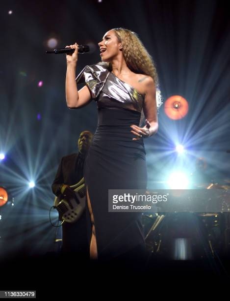 Leona Lewis performs during the 23rd annual Keep Memory Alive 'Power of Love Gala' benefit for the Cleveland Clinic Lou Ruvo Center for Brain Health...