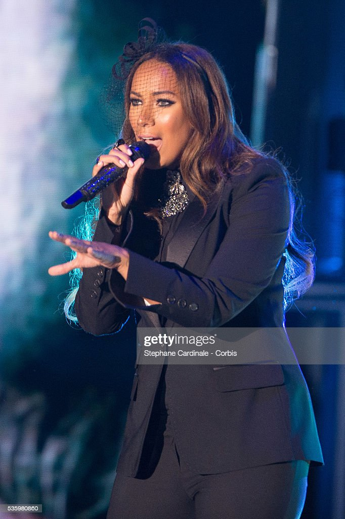Leona Lewis performs during the ceremony of the World Music Awards 2014 at Sporting Monte-Carlo on May 27, 2014 in Monte-Carlo, Monaco.