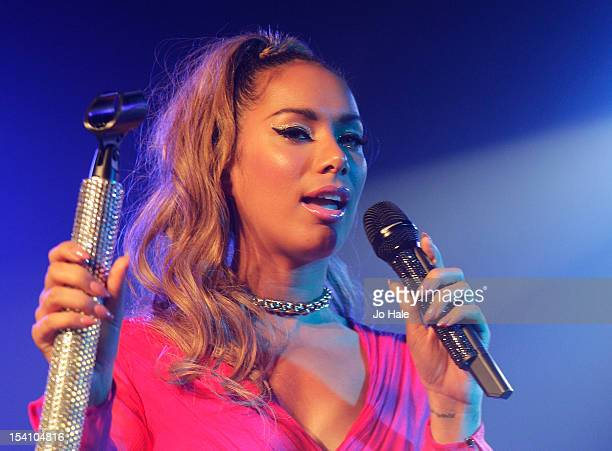 Leona Lewis performs on stage for GAY club night at Heaven on October 13 2012 in London United Kingdom