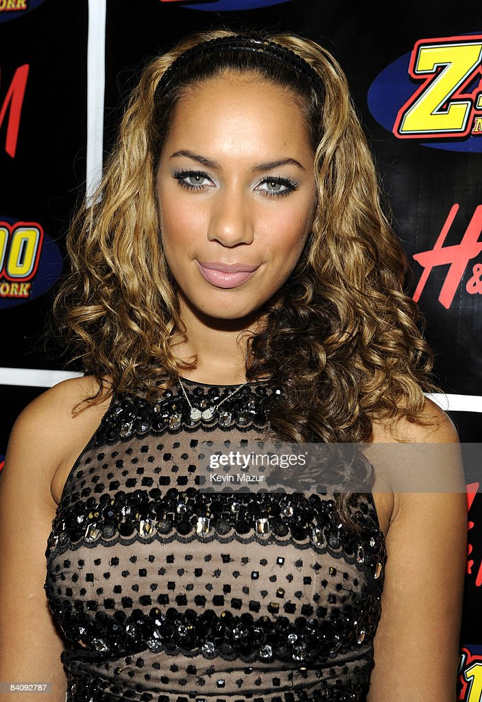 Leona Lewis poses backstage during Z100's Jingle Ball 2008 Presented by H&M at Madison Square Garden on December 12, 2008 in New York City. *EXCLUSIVE*