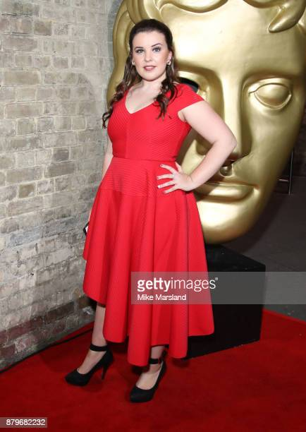 Leona Vaughan attends the BAFTA Children's awards at The Roundhouse on November 26 2017 in London England