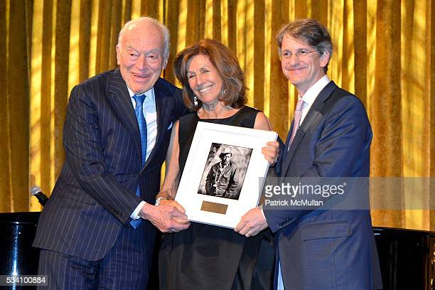 Leonard A Lauder Judy Glickman Lauder and Thomas P Campbell attend The Gordon Parks Foundation 10th Anniversary Awards Dinner and Auction at Cipriani...