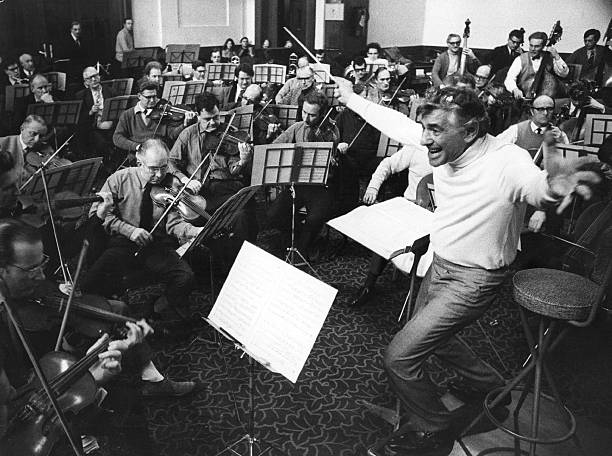 Leonard Bernstein, American conductor composer and...