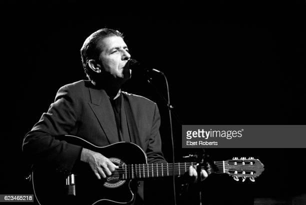 Leonard Cohen at the Beacon Theater in New York City on November 16 1988