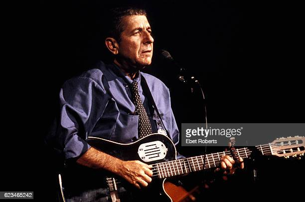 Leonard Cohen at the Paramount Theater in New York City on June 14 1993