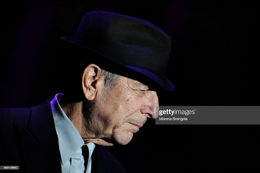 Leonard Cohen Performs In Milan : News Photo