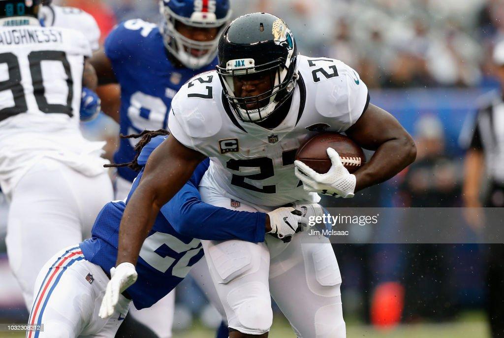 Jacksonville Jaguars v New York Giants : Foto jornalística
