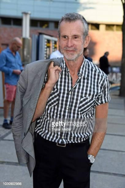 Leonard Freier during the ''Asphaltgorillas' premiere at Kino in der Kulturbrauerei on August 21 2018 in Berlin Germany