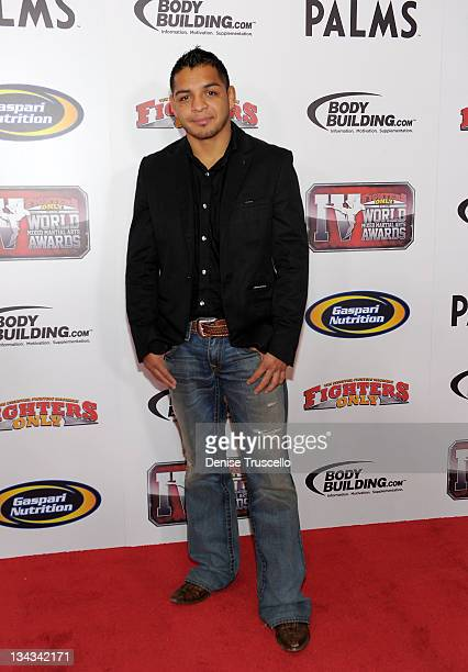 Leonard Garcia arrives at the 2011 Fighters Only World Mixed Martial Arts Awards on November 30, 2011 in Las Vegas, Nevada.