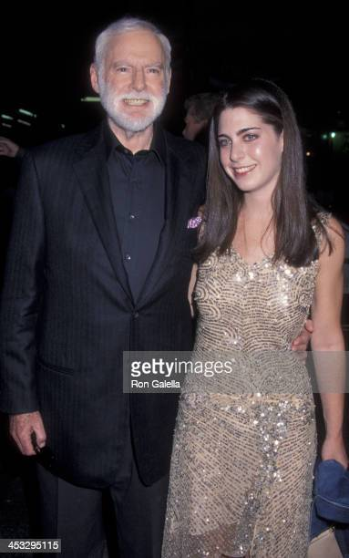 Leonard Goldberg and Amanda Goldberg attend the world premiere of Charlie's Angels on October 22 2000 at Mann Chinese Theater in Hollywood California