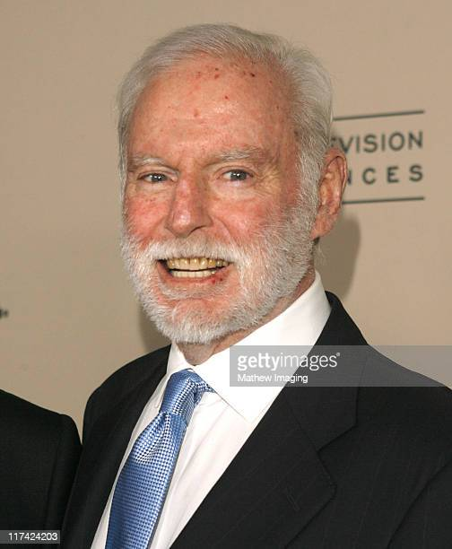 Leonard Goldberg during Academy of Television Arts Sciences Hall of Fame Ceremony Arrivals at Beverly Hills Hotel in Beverly Hills California United...