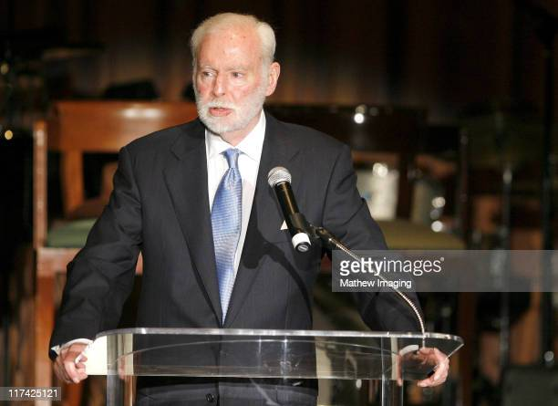 Leonard Goldberg during Academy of Television Arts Sciences Hall of Fame Ceremony Inside and Reception at Beverly Hills Hotel in Beverly Hills...