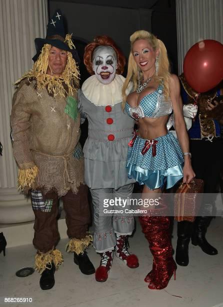 Leonard Hochstein attends the Hochstein's 9th Annual Halloween Ball on October 28 2017 in Miami Beach Florida