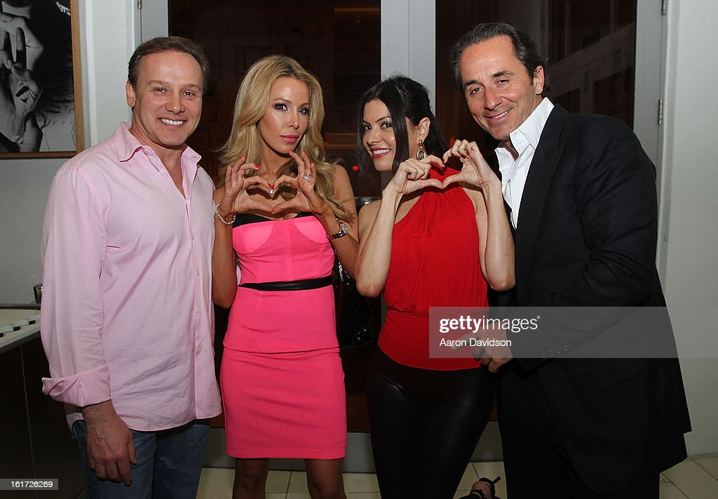 Real Housewives Of Miami Lisa Hochstein and Adriana De Moura Dine At Katsuya : News Photo