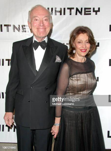 Leonard Lauder and Evelyn Lauder during 2006 Whitney Gala Celebrating Picasso and American Art Arrivals at The Whitney Museurmof American Art in New...