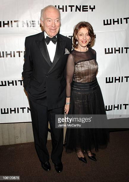 Leonard Lauder and Evelyn Lauder during The 2006 Whitney Gala Celebrating Picasso and American Art at The Whitney Museum in New York City New York...