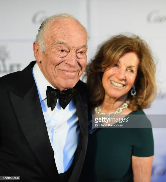 Leonard Lauder and guest attend The New York City Ballet 2017 Spring Gala at David H Koch Theater at Lincoln Center on May 4 2017 in New York City