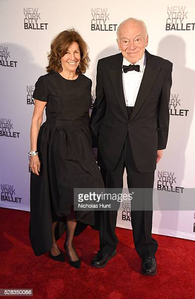 Leonard Lauder and Judith Glickman attend New York City Ballet's Spring Gala at David H Koch Theater at Lincoln Center on May 4 2016 in New York City