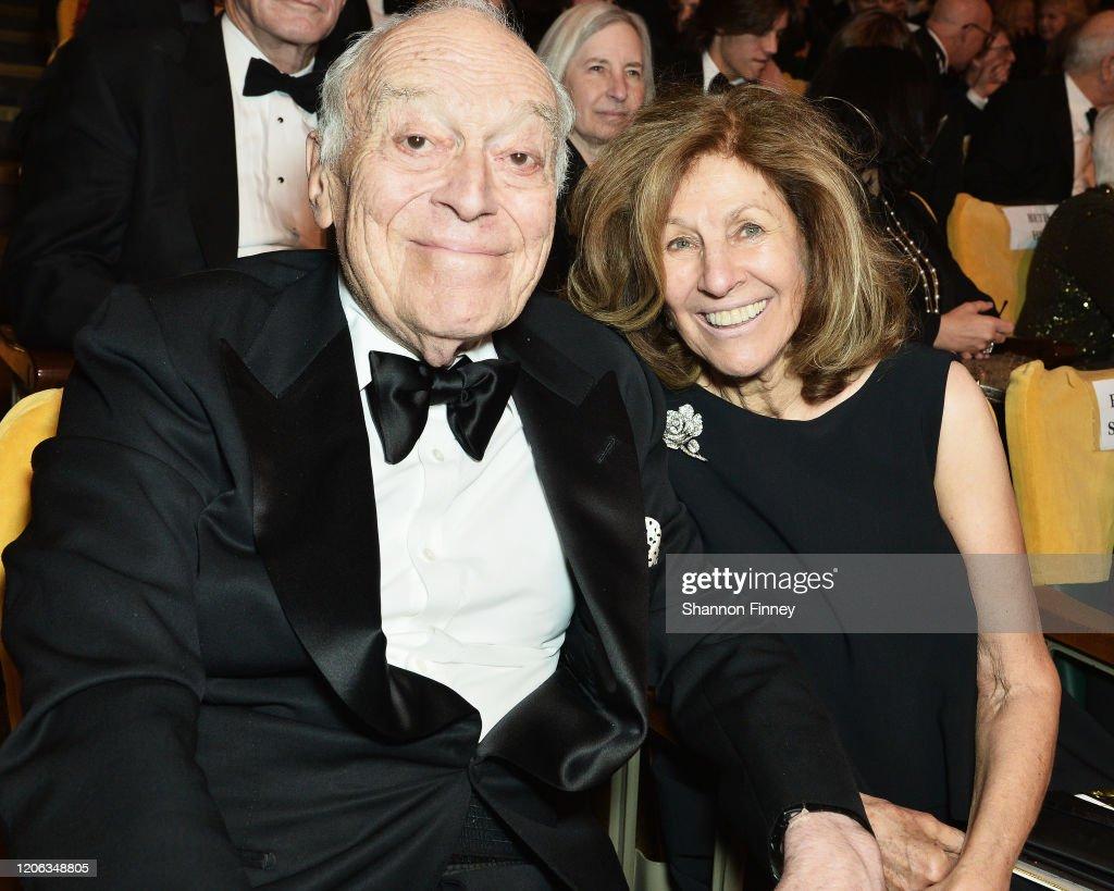 Justice Ruth Bader Ginsburg Presents Inaugural Woman Of Leadership Award To Agnes Gund : News Photo