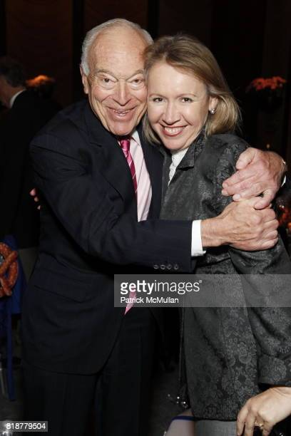 Leonard Lauder and Libby Pataki attend CANCER RESEARCH INSTITUTE'S Through The Kitchen Party at The Four Seasons on April 25 2010 in New York City