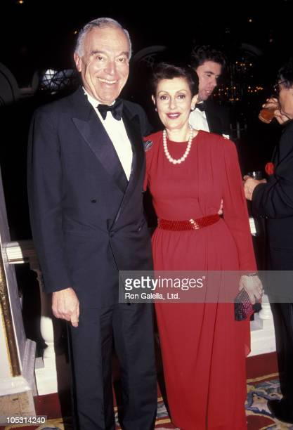 Leonard Lauder and wife during Lifetime Achievement In The Arts Awards December 9 1991 at The Plaza Hotel in New York City New York United States