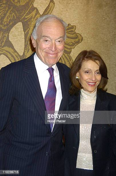 Leonard Lauder and wife Evelyn Lauder during The 51st Annual Winter Antiques Show Opening Night Benefitting The East Side House Settlement at The...