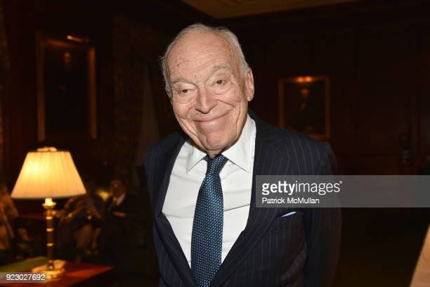 Leonard Lauder attends Symrise's Achim Daub ReVive's Elena Drell Szyfer honored at BEYOND BEAUTY Dinner 2018 Special Speaker Actor and Mental Health...