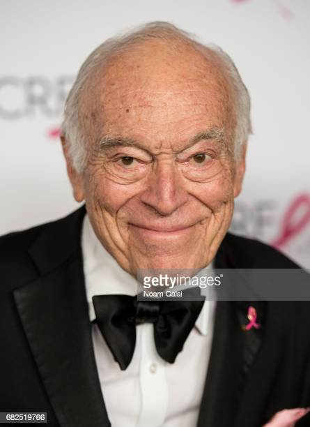 Leonard Lauder attends the 2017 Breast Cancer Research Foundation Hot Pink Party at Park Avenue Armory on May 12 2017 in New York City