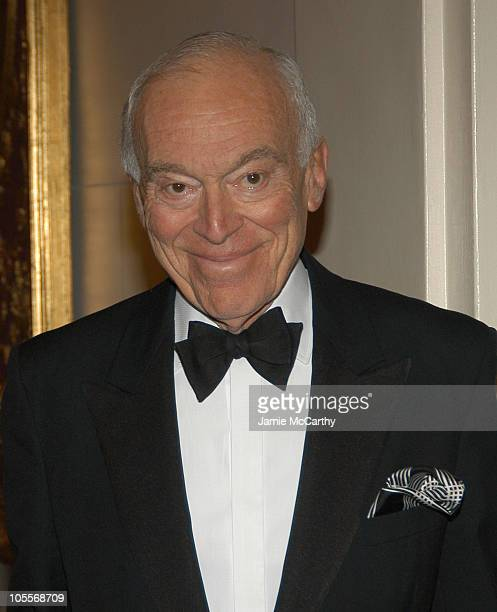 Leonard Lauder during 11th Annual Living Landmarks Gala at The Plaza Hotel in New York City New York United States