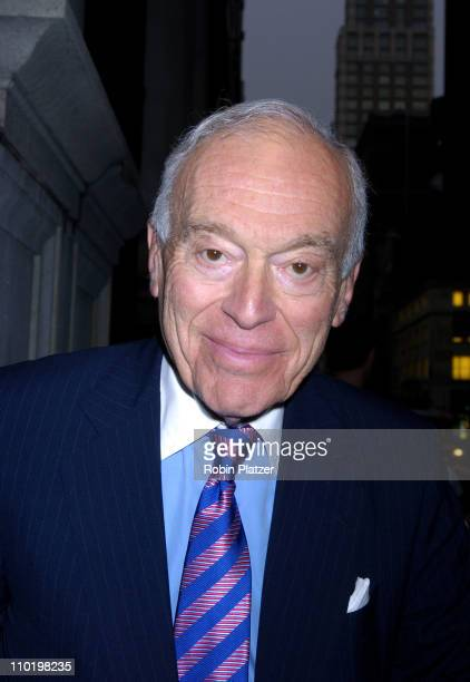 Leonard Lauder during BideAWee 9th Annual Have A Heart Gala Celebrating a New Century Of Caring for New York's Pets at The Metropolitan Club in New...